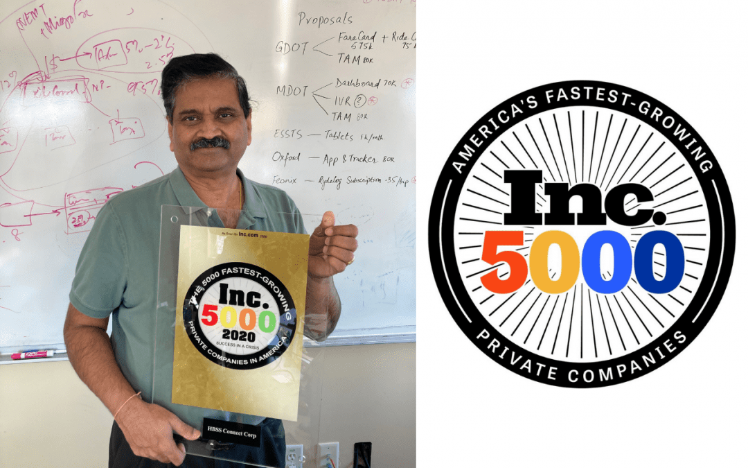 HBSS is included in 2020 Inc 5000
