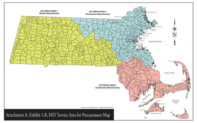 Brokerage Service Areas Consolidate in Massachusetts and will Utilize QRyde to Coordinate Rides for the Entire State